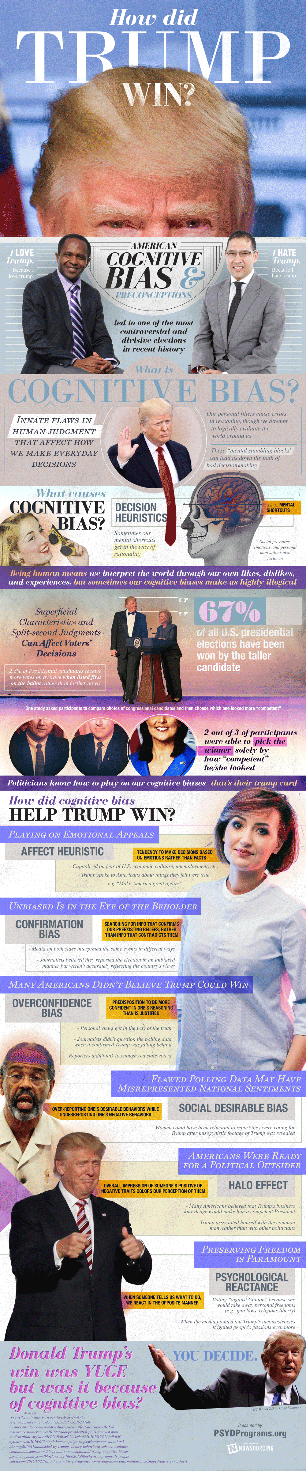 How Did Trump Win the Election [Infographic]